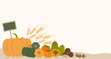 linden tree: autumn vegetable Illustration