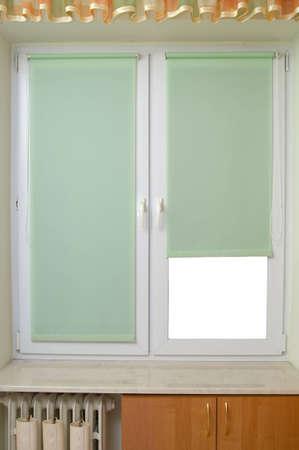 Window in bedroom, small room Stock Photo - 12359669