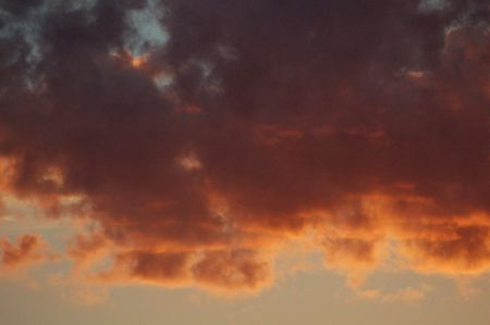 befog: sunset clouds