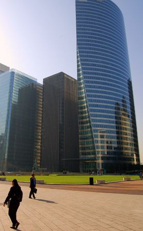 Modern Skyscraper in la Défense, Paris Stock Photo - 1352833