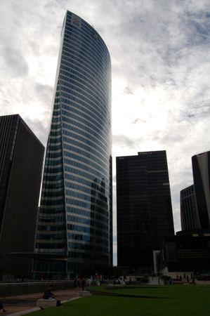 Modern business building in la Défense, Paris