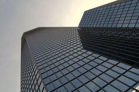 Modern Skyscraper in la D�fense, Paris Stock Photo - 1352842