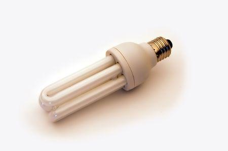 Energy saver light bulb photo