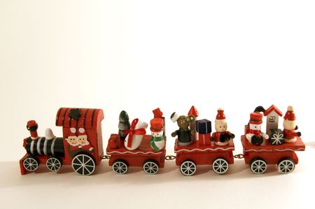 christmas train: Christmas train