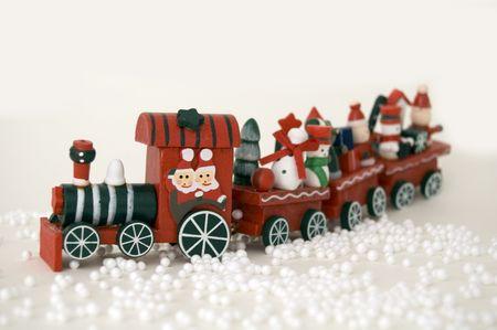 Christmas train Stock Photo - 2101935