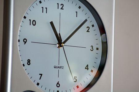 The Clock Stock Photo - 2419161