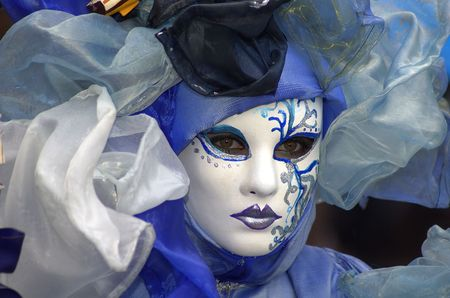 carnaval venise: Une femme avec un masque dans le carnaval de Venise