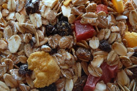 collation: Musli closeup