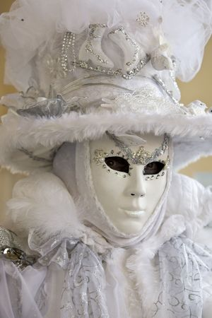 Professional masks I've seen during the carnival held in Venice in Italy, February 2009. Stock Photo - 4408663