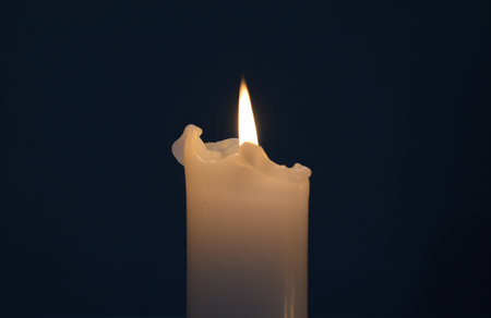 all souls' day: Candle Light, All Souls Day Stock Photo