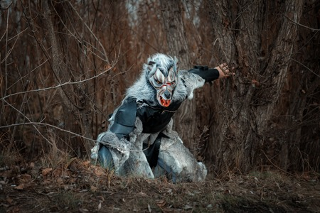 sneaks: Man wolf werewolf sneaks through the woods, he was terrible.