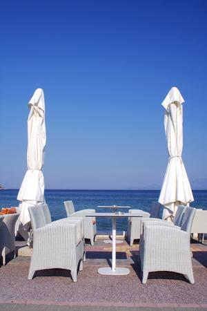 cafe on beach