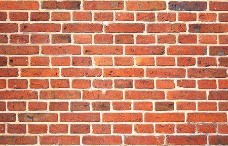red brick wall pattern, closeup