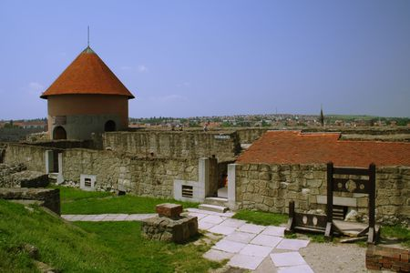 old castle in Eger, Hungary