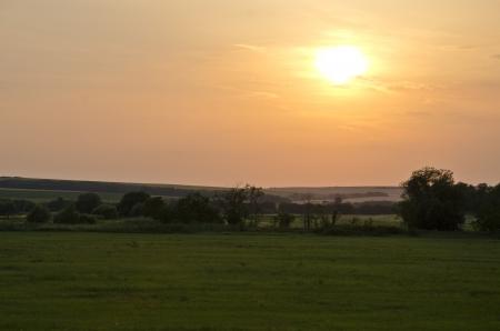 sunset background Stock Photo - 17272131