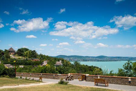 lake Balaton, Tihany Imagens