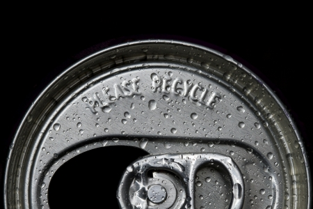 used can and please recycle word Stock Photo - 15368022