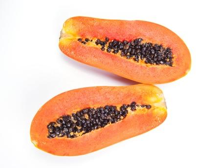 ripen: cut ripen papaya