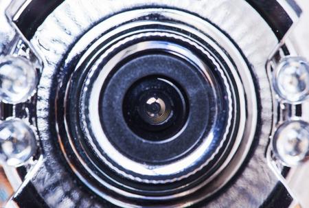 web camera close up photo