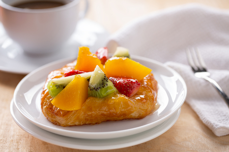 fruit danish pastry for coffee break