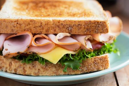 pepper ham sandwich