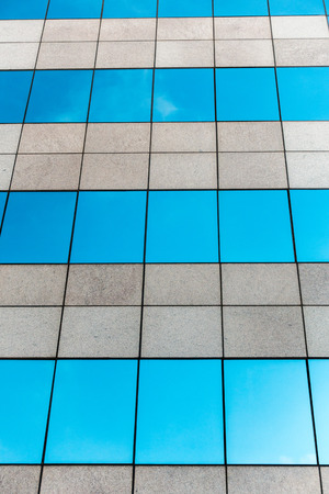 rafters: Glass building and Cloud