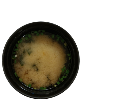 japanese food a miso soup