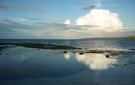 longing: Beach in Siquijor just before sunset