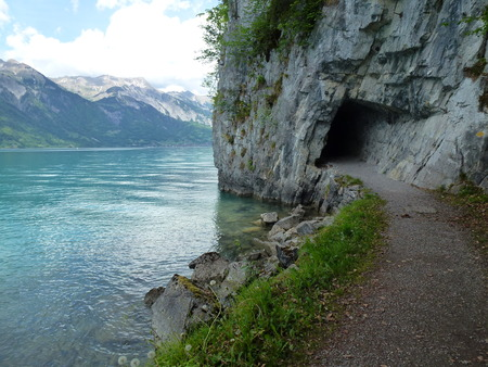 Tunnel for Pedestrians at a Lake