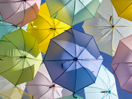 umbella: Colorful Umbrella Sky