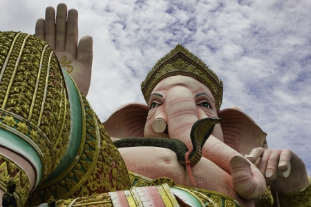 clound: Lord Ganesha is located in Thailand