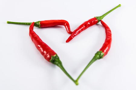 chilli red: coraz�n rojo de los chiles