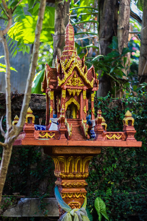 ism: shrine of the household god in home Stock Photo