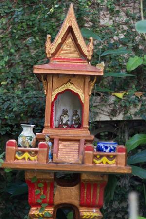 shrine of the household god in home Stock Photo