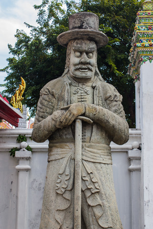 stone carving: Stone carving at Wat Pho,Thailand.