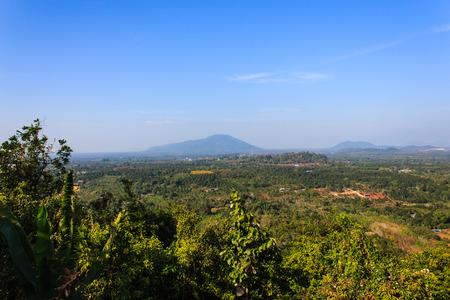 ploy: landscape on khao Ploy whaen of Chanthaburi