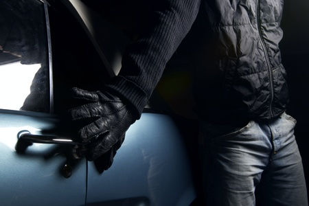 car thief Stock Photo - 10808269
