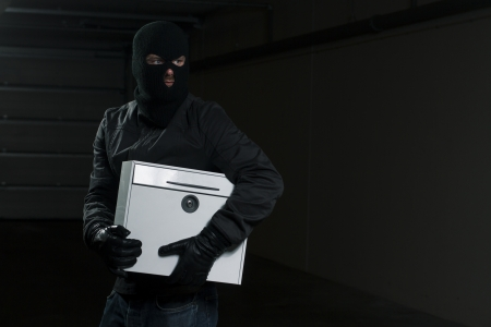 Mail theif Stock Photo - 14774697