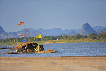 boarder: Mekong river Laos and Thailand Boarder