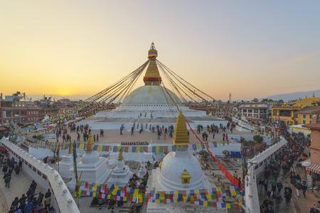 kathmandu: Boudhanath stupa kathmandu Nepal