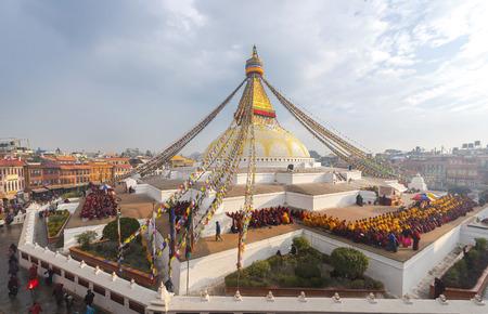 ボダナート仏塔カトマンズ ネパール