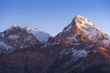 worl: View from Poon Hill 3210m in Nepal