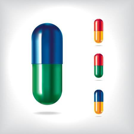Vector pills set