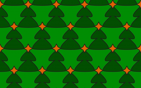 Seamless christmas background - christmas tree vector Vector