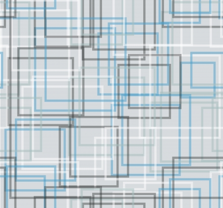 Abstract background - grey, white and blue squares Stock Vector - 18227562