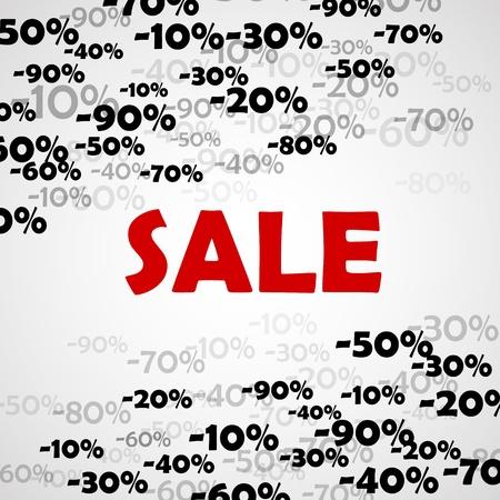 Sale vector background Stock Vector - 18383506