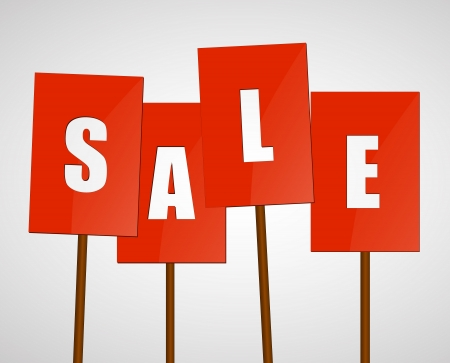 Sale background Stock Vector - 18383512