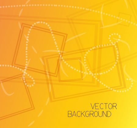 Orange vector background Vector