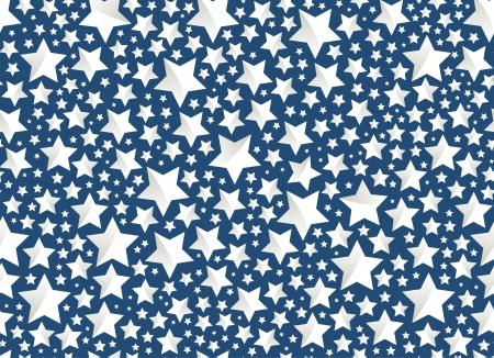 Vector de la Navidad - las estrellas en azul Vectores