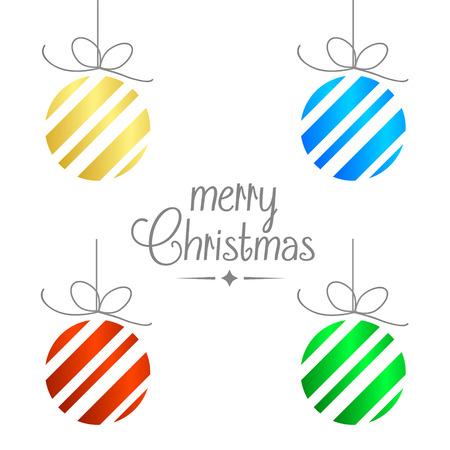 Feliz Navidad vector de antecedentes